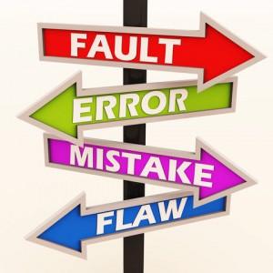 fault-error-mistake-flaws - Image24752617 Dreamstime